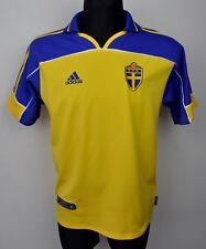 SWEDEN Home National Football Shirt 2000/2002 Men's Small Jersey S Trikot Top
