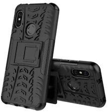 For Xiaomi Mi A2 /Mi 6X Hybrid Case 2 Pieces Outdoor Black Case Cover