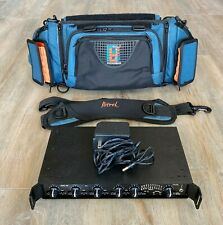 Sign Video Eng-44 4-Channel Portable Field Audio Mixer And Petrol Mixer Bag
