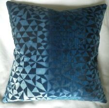Designers Guild Fabric Cushion Cover VOYSEY - Indigo Velvet