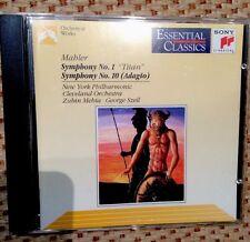 """Symphony N°1 """"titan"""" - Symphonie N°10 (adagio) - MAHLER GUSTAV"""