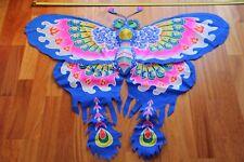 Cerf-volant chinois papillon vert 3D-Chinese kite-aquilone cinese-cometa china 2
