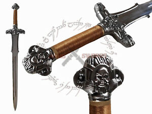 Conan The Barbarian Atlantean Sword With Wooden Stand