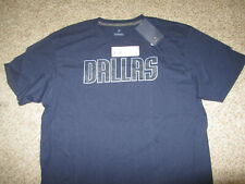 NWT NEW Dallas Mavericks Navy Blue NBA Basketball T-Shirt XL Cotton Fanatics