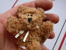 "Adorable Mini Boyd's Brown Bear still with original tag- 4"""