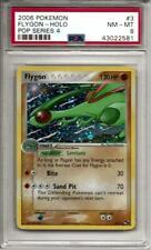 PSA 8 Flygon Holo Card #3 Pop Serie 4 Set Pokemon 2006