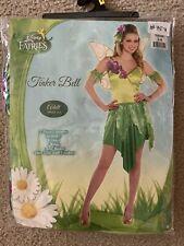 Disney Fairies Tinker Bell 5 Piece Costume Adult Small