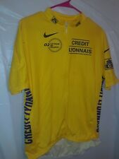 lance armstrong nike 02 le tour de france jersey 3XXL yellow color