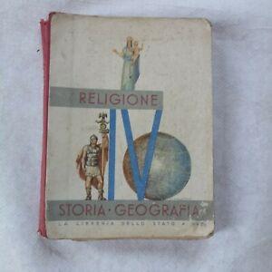 IL LIBRO DELLA IV CLASSE ELEMENTARE 1939 pp.300