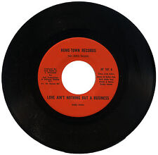 """BOBBY ADAMS  """"LOVE AIN'T NOTHING BUT A BUSINESS c/w INSTR.""""   FUNK    LISTEN!"""