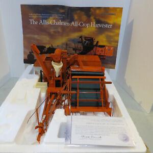 Franklin Mint Allis Chalmers 60A All Crop Harvester Combine  1/12  AC-B11A114-B