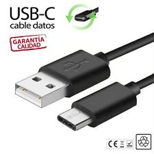 CABLE USB 3.1 TIPO C A USB COMPATIBLE SAMSUNG HUAWEI XIAOMI LG SONY XPERIA negro