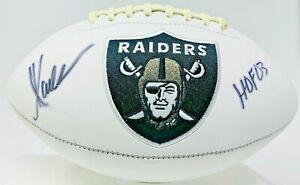 Oakland Raiders Marcus Allen Signed HOF 03 Logo Football Fanatics Holo A900019