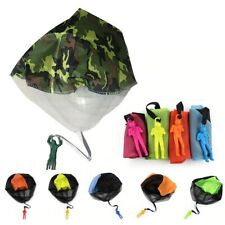 Hand Throw Soldier Parachute Toys Indoor Outdoor Games for Kids Fun Sports Gifts