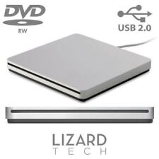 External Portable USB Slot Load Silver DVD-RW Superdrive For Apple Macbook
