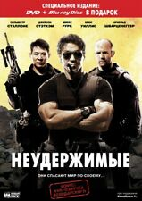 The Expendables (Blu-ray/DVD, 2010, 2-Disc Set) Russian