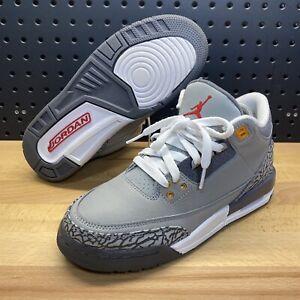 Nike Air Jordan 3 Retro Cool Grey 2021 Shoes 398614-012 Youth 6.5Y / Women's 8