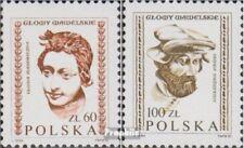 Polen 2829-2830 (kompl.Ausg.) gestempelt 1982 Köpfe aus der Wawel-Burg