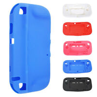 5 Colors Rubber Cover Case Protective Soft For Wii U Gamepad Wireless Controller