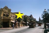 Disneyland 1956 Main Street, USA Vintage PHOTO Kodachrome Slide Walt Disney 22