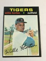 F59658  1971 Topps #120 Willie Horton TIGERS
