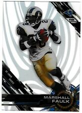 2015 Topps High Tek Pattern 7 Blade #37 Marshall Faulk HOF St. Louis Rams Card