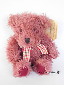 """RUSS * BEARS FROM THE PAST """"DARBY"""" LAVENDER BEAR PLUSH"""