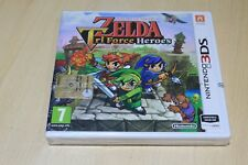 The Legend of Zelda Tri Force Heroes NINTENDO 3 DS PAL NEUF SOUS BLISTER
