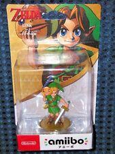 Nintendo Switch amiibo Link Legend Zelda Majora's Mask Breath of Wild JAPAN F/S