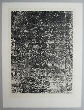 Jean Dubuffet, Mur écaillé, 1959, Lithographie, handsigniert, datiert, betitelt