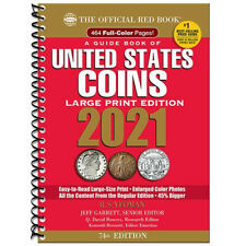 **SHIPPING** 2021 REDBOOK - GUIDE BOOK OF UNITED STATES COINS - LARGE PRINT