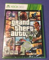 Grand Theft Auto V [ GTA V / GTA 5 ]  (XBOX 360) NEW