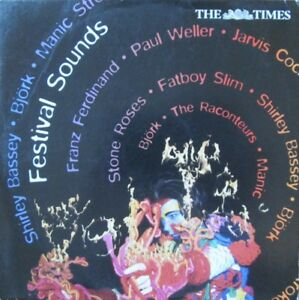 FESTIVAL SOUNDS CD AUDIO MUSIC BLONDIE PAUL WELLER RACONTEURS FATBOY SLIM