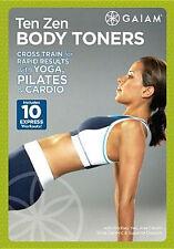 TEN ZEN BODY TONERS (Tanja Djelevic) - DVD - Region Free - Sealed
