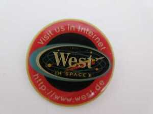 Pin West Zigaretten Space Werbung cigarettes