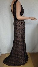SIZE-14, GERRY SHAW Stunning Lace Evening Dress .