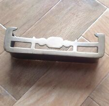 """Vintage miniature brass fender approx 6"""" long Suitable For Dolls House"""