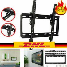 LCD LED Fernseher Wandhalter TV Wandhalterung 17 - 50 Zoll Flach neigbar 55kg