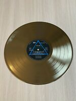 Pink Floyd - The Dark Side Of The Moon 1973 Gold Vinyl Record First Press Label