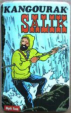 autocollant publicitaire > KANGOURAK SALIK avec LE CAPITAINE HADDOCK (Hergé)