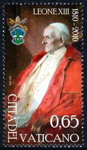 Vatican 1445, MNH. Pope Leo XIII, 2010
