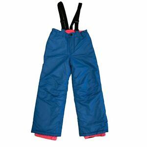 Iceburg Outerwear Ski Bib Kids Youth Size Large Puffer Overalls Waterproof New