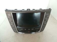 LEXUS IS250 RADIO/ SAT/ NAV UNIT PART # 8611153270, GSE20R, 03/08-12/14