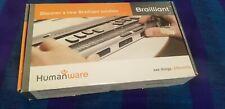 Humanware Brailliant 32 BI32 Braille Display Keyboard for iPhone Braillenote