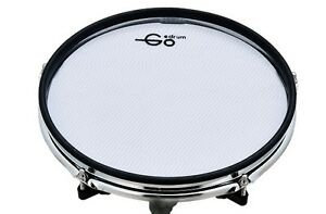 """Goedrum 10"""" Electronic Drum Pad with Rim Silencer / Dual Triggers / Mesh Head"""