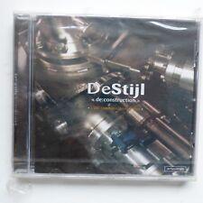 DESTIJL de : construction  artycd999 ELEC NEW WAVE ROCK CD ALBUM