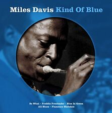 Miles Davis Kind of Blue Picture Vinyl Record LP Album So What Blue in Green