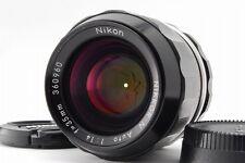 [Exc+++++] Vintage Nikon Nikkor-N Auto 35mm f1.4 MF Non-Ai from Japan #137