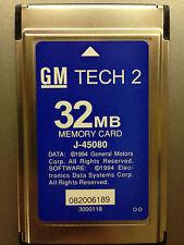 GM NAO Tech 2 Memory Card 32MB 33.002 1991-2013 Tech2 Diagnostic Scanner TIS