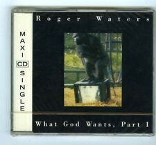 MAXI CD SINGLE (NEW) ROGER WATERS WHAT GOD WANTS PART 1(PINK FLOYD)